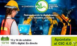 IV Congreso Online (13 y 14 Octubre) – Industria Conectada 4.0